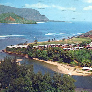 Hanalei Plantation, back in the day …