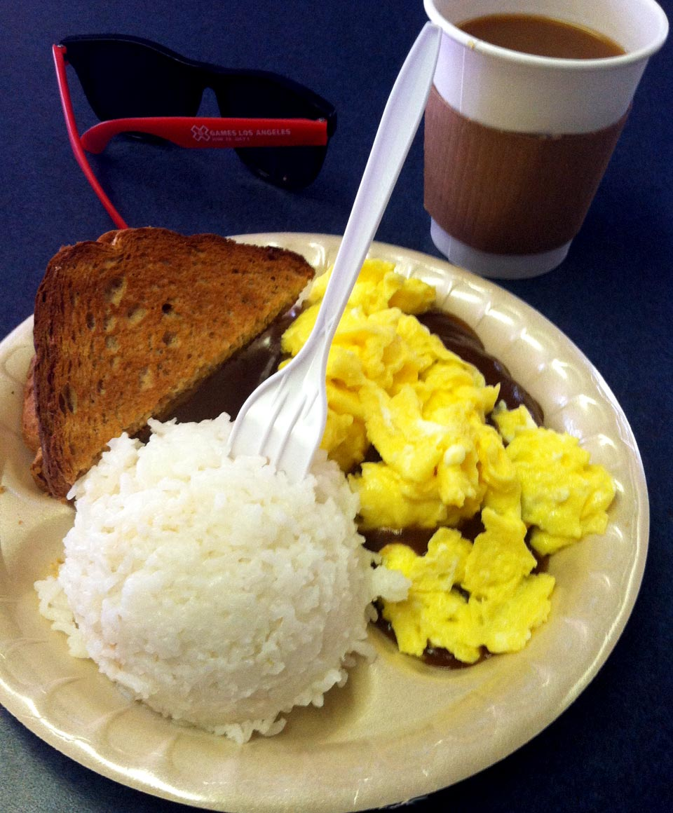 Hanalei Snack Shop Loco Moco and Coffee
